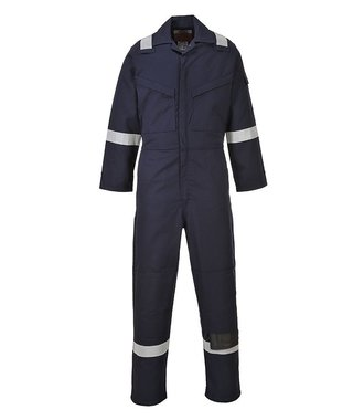 FR50 - Flame Resistant Anti-Static Coverall 350g - Navy T - T