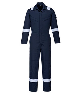 FR51 - Bizflame Plus Ladies Coverall 350g - Navy - R