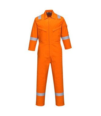 FR51 - Bizflame Plus Ladies Coverall 350g - Orange - R