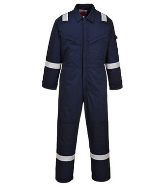 FR52 - Padded Winter Anti-Static Coverall - Navy - R