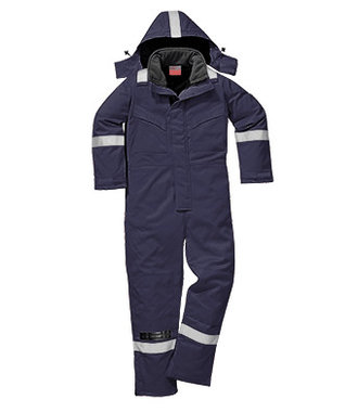 FR53 - FR Anti-Static Winter Coverall - Navy - R