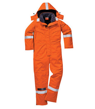FR53 - FR Anti-Static Winter Coverall - Orange - R