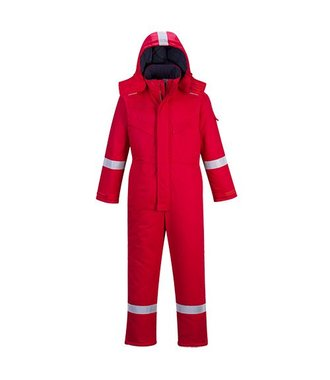 FR53 - FR Anti-Static Winter Coverall - Red - R