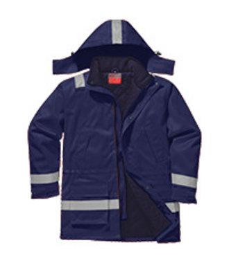 FR59 - FR Anti-Static Winter Jacket - Navy - R