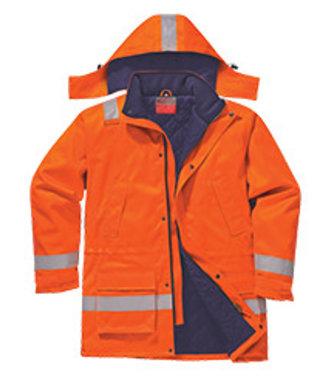 FR59 - Parka Hiver FR Anti-Statique - Orange - R