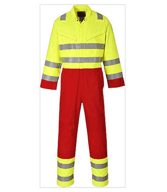FR90 - Bizflame Services Coverall - Yellow - R