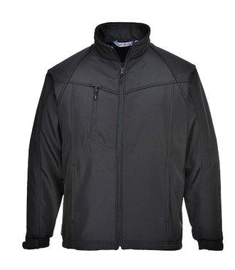 TK40 - Oregon Softshell Jacke 2-lagig - Black - R
