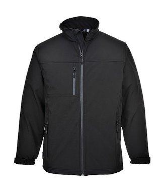 TK50 - Softshell Jacke (3L) - Black - R