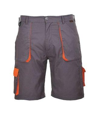 TX14 - Portwest Texo Contrast Shorts - Grey - R