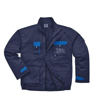 TX18 - Portwest Texo Contrast Jacket - Lined - Navy - R