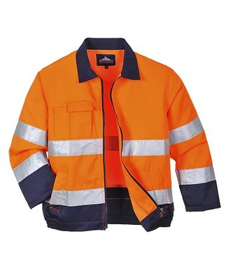 TX70 - Madrid Hi-Vis Jacket - OrNa - R