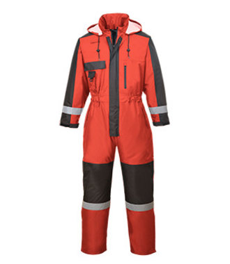 S585 - Winter Overall - Red - R