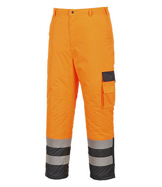 S686 - Hi-Vis Contrast Trousers - Lined - OrNa - R