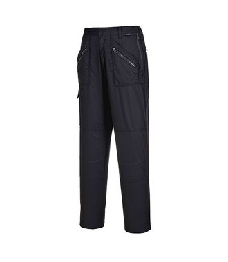 S687 - Ladies Action Trousers - BlackT - T