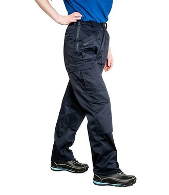 S687 - Ladies Action Trousers - Navy T - T