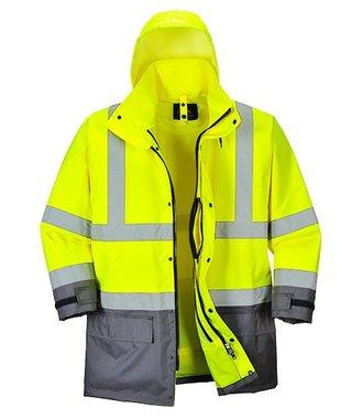 S768 - Hi-Vis Executive 5-in-1 Jacket - YeGrey - Y