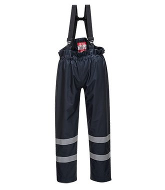S772 - Bizflame Rain Multi Protection Unlined Trouser - Navy - R
