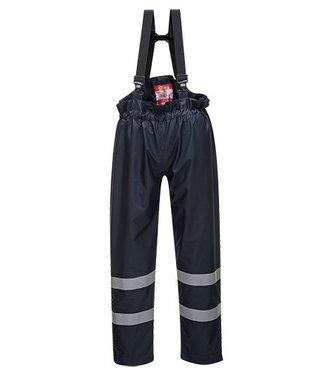 S772 - Pantalon pluie non doublé Bizflame Rain Multi Risques - Navy - R