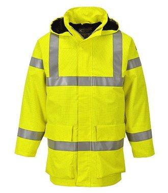 S774 - Bizflame Multi - Leichte Regen-Warnschutzjacke - Yellow - R