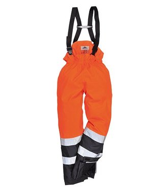 S782 - Bizflame Rain Hi-Vis Multi-Protection Trouser - OrNa - R