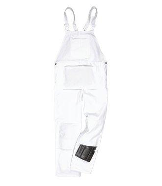 S810 - Cotte à bretelles Peintre - White - R