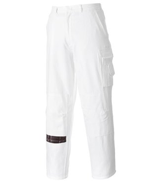 S817 - Pantalon Peintre - White - R