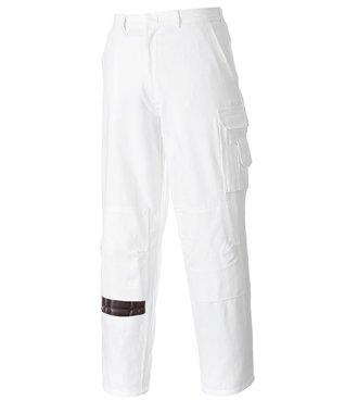 S817 - Pantalon Peintre - WhiteT - T