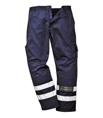S917 - Iona Safety Combat Trousers - Navy T - T