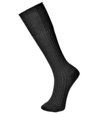 SK10 - Combat Sock - Black - R