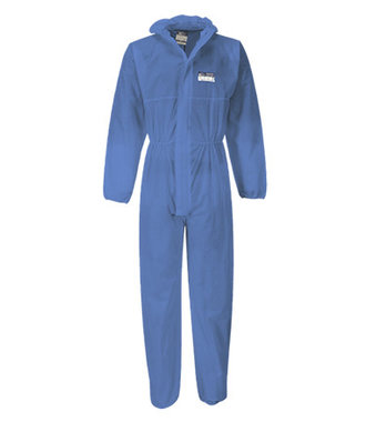 ST30 - BizTex SMS Coverall Type 5/6 - Navy - R