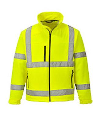 S424 - Hi-Vis Classic Softshell Jacket (3L) - Yellow - R