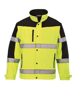 S429 - Two Tone Softshell Jacket (3L) - Yellow - R