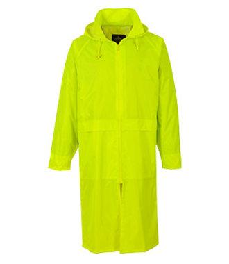 S438 - Classic Adult Rain Coat - Yellow - R