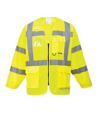 S475 - Hi-Vis Executive Jacket - Yellow - R