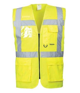 S476 - Berlin Executive Vest - Yellow - R