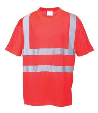 S478 - Hi-Vis T-Shirt - Red - R