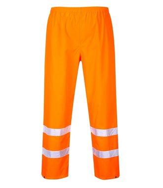 S480 - Hi-Vis Traffic Trousers - Orange - R