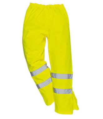 S487 - Hi-Vis Breathable Trousers - Yellow - R