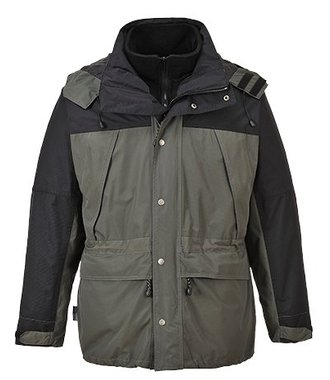 S532 - Orkney 3 in 1 Breathable Jacket - Grey - R