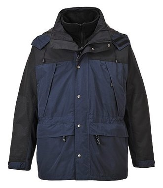 S532 - Orkney 3 in 1 Breathable Jacket - Navy - R