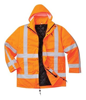 R460 - RWS Traffic Jacket - Orange - R