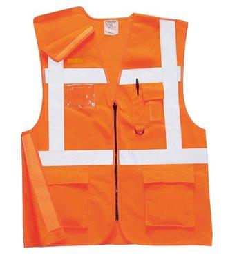 RT26 - Executive Rail Vest RIS - Orange - R
