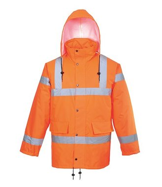 RT34 - Hi-Vis Breathable Jacket RIS - Orange - R