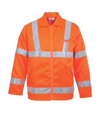 RT40 - Hi-Vis Poly-cotton Jacket RIS - Orange - R