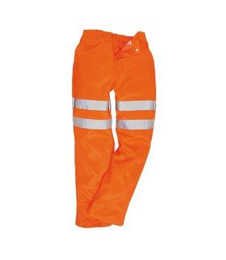 RT45 - Hi-Vis Poly-cotton Trousers RIS - Orange - R