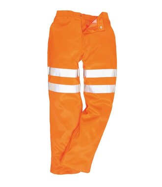 RT45 - Hi-Vis Poly-cotton Trousers RIS - OrangT - T