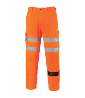 RT46 - Pantalon Métiers du Rail - Orange - R