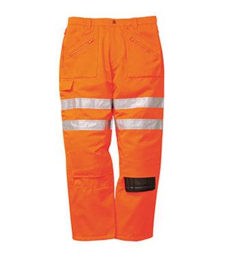 RT47 - Rail Action Trousers - Orange - R