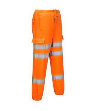 RT48 - Hi-Vis Jogging Bottoms - Orange - R