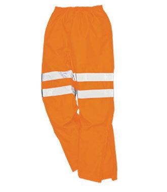 RT61 - Hi-Vis Breathable Trousers - Orange - R